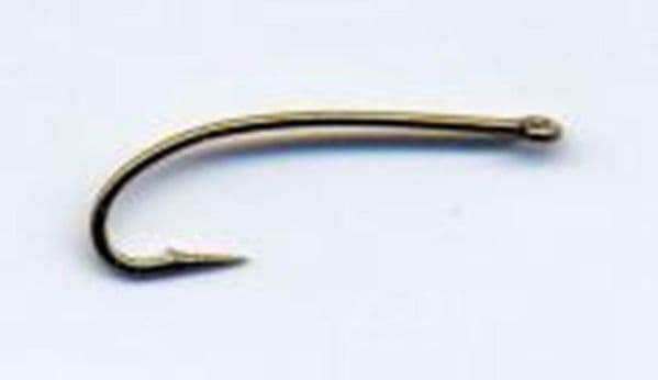 Fly Tying TMC 200R Curved 3X Long Shank Nymph Hooks packet of 25 Strong Wire